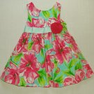 RARE EDITIONS Girl's Size 2T Floral Sundress, Dress, NEW