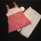 XOXO Girl's Size 5 Pink Tunic, Pants Outfit, NEW