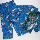 DISNEY TOY STORY BUZZ LIGHTYEAR Size 4 Flannel Coat Pajama Set, NEW