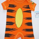 DISNEY Boy's 3-6 Months TIGGER One-Piece Romper, Costume, NEW