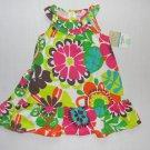 CARTER'S Girl's Size 18 Months Floral Print Dress, Sundress, NEW