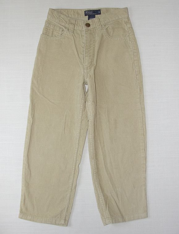 POLO RALPH LAUREN Boy's Size 5 Tan Khaki Corduroy Pants