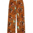 SCOOBY-DOO Boy's Size 8 Fleece Pajama Lounge Pants, NEW
