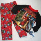 THE AVENGERS Boy's Size 8 Pajama Set, The HULK, IRONMAN, CAPTAIN AMERICA, New Without Tags