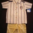 BUSTER BROWN DRAGON MASTER Boy's Size 4 Three-Piece Shorts Set, NEW