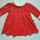 ALL MINE Girls 18 Months Santa Christmas Dress, NEW
