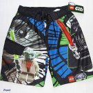 LEGO STAR WARS Boy's Size 4 Swim Shorts, Trunks, YODA, DARTH VADER, NEW
