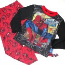 SPIDER-MAN Boy's Size 8 'Stick With Me' Pajama Pants Set, NEW