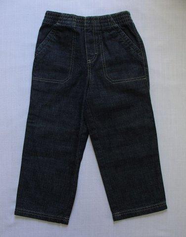 TOUGHSKINS Boy's Size 3T Blue Denim Jeans, Pants, NEW, New Without Tags