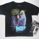 RB RUDEBOYZ Size M 10-12 Gorilla T-Shirt, Shirt with Handheld FM Radio, NEW