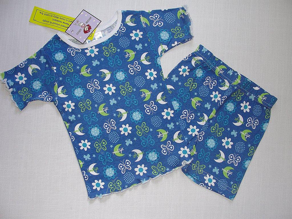 DREAM GIRLZ Size 4 Shorts Pajama Set, 'Moonlight', NEW