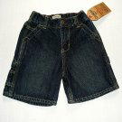 OSHKOSH B'GOSH Boy's Size 3T Denim Carpenter Painter Shorts, NEW