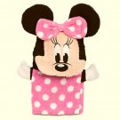 DISNEY BABY MINNIE MOUSE Terry-Cloth Bath Mitt, Puppet, NEW