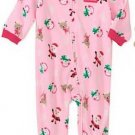 Carter's Girl's Size Newborn My First Christmas Pajamas