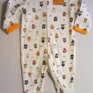 FIRST MOMENTS Boy's Size 6 Months BABY'S 1ST HALLOWEEN Clothing Romper, NEW NWOT