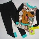 SCOOBY-DOO Boy's Size 6 Scooby Snacks Pajama Pants Set, NEW