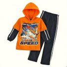 DISNEY PLANES Boy's Size 6 Hooded Fleece Sweat Suit Outfit, NEW