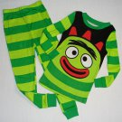 YO GABBA GABBA BROBEE Boy's Size 4 Pajama Pants Set, NEW