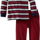 SESAME STREET Boy's Size 4T FIREMAN FOX Corduroy Pants Set, Outfit, NEW
