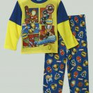 MARVEL Boy's 3T SUPER HERO SQUAD SQUADIES Pajama Pants Set, NEW