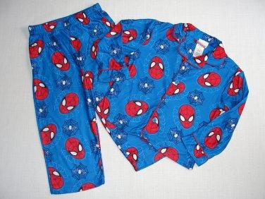 SPIDER-MAN Marvel Boy's Size 4T Pajama Pants Set, NEW