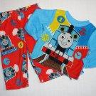 THOMAS & FRIENDS Boy's 24 Months Fleece Pajama Top, Pants Set, NEW