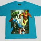 MARVEL AVENGERS Boy's Size 8 Tee, T-Shirt, Shirt, NEW