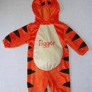DISNEY Boy's, Girl's 12 Months Plush TIGGER Tiger Costume