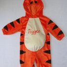 DISNEY Boy's, Girl's 12 Months Plush TIGGER Tiger Costume, NEW