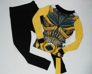 TRANSFORMERS BUMBLEBEE Boy's Size 8 Costume Pajama Set, NEW