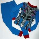 TRANSFORMERS OPTIMUS PRIME Boy's Size 10 Costume Pajama Set, NEW