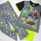 MARVEL AVENGERS HULK, THOR, IROMAN Boy's Size 10 Pajama Set