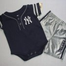 GENUINE MERCHANDISE Boy's 3-6 Months N. Y. YANKEES Shorts Set, Outfit