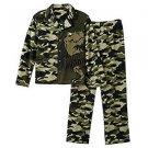 Boy's Size 8 OR 10/12 Tyrannosaurus Rex, T-Rex Dinosaur Fleece Pajama Set