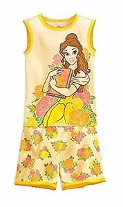 Disney Belle Beauty and the Beast Size 5, 6 OR 7 OR Fairy Tale Pajama Shorts Set