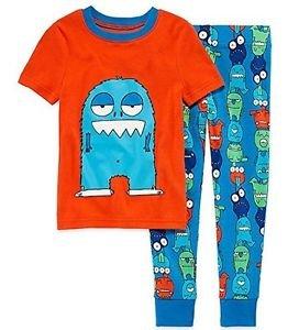 Toddler Boy's Blue MONSTER Size 3T OR 4T Cotton Pajama Pants Set
