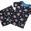 THE CHILDREN'S PLACE Boy's Size 3 SPACE Shorts Pajama Set