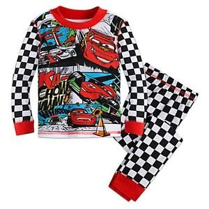 DISNEY CARS 3, 4,  5, 6, 7 OR 8 Lightning McQueen Shu Todoroki Racing Pajama Set