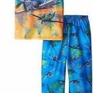Disney Planes Boy's Size 4/5 Polyester Short-Sleeved Pants Pajama Set