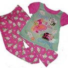 Girl's Size 5T Don't Bug Me Ladybug Pajama Set