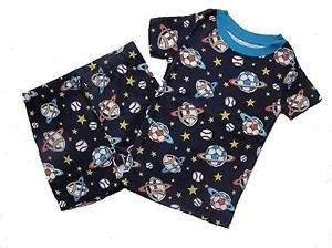 THE CHILDREN'S PLACE Boy's Size 4 SPACE Shorts Pajama Set