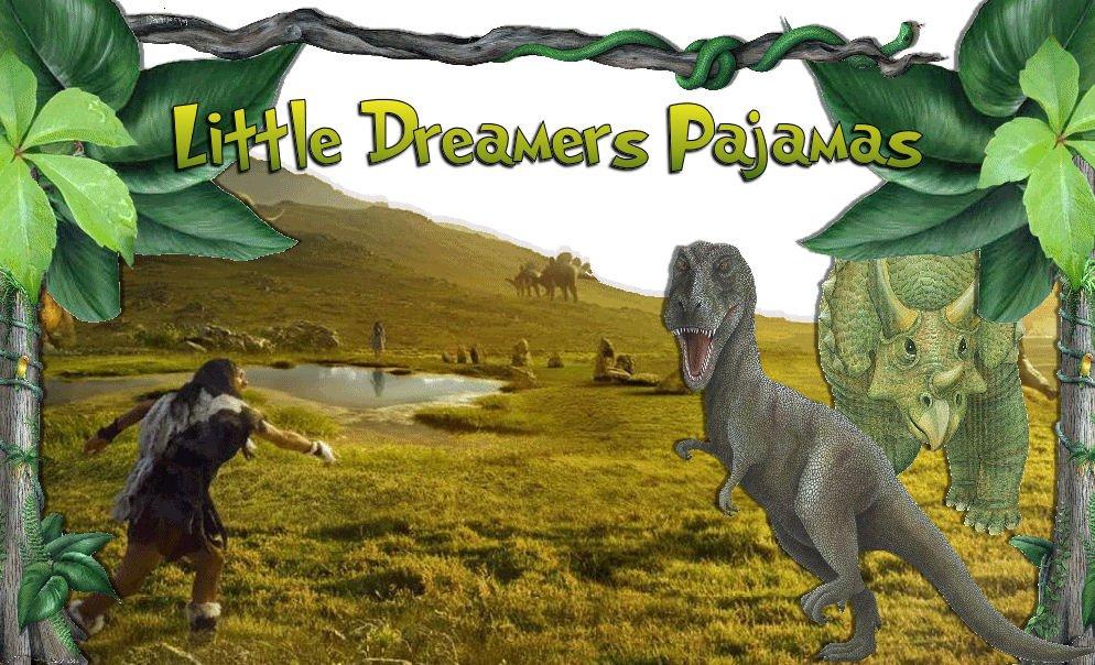 Boy's Size 6/7 T-REX DINO HUNGRY TYRANNOSAURUS REX Dinosaur Pajama Set