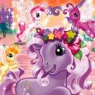 My Little Pony Little Girls' Size 4T Toddler High Five Fleece Pajama Set