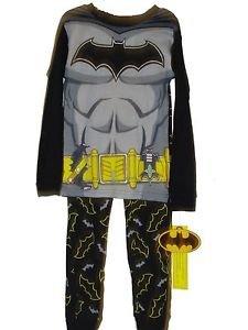 Boy's Size 6 Superhero DC Comics Batman Cotton Pajama Set