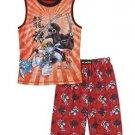 LEGO Ninjago Boy's Size 4/5 2 Piece Tank & Shorts Pajama Sleepwear Set
