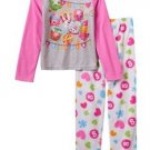Girl's Size 8 Team Shopkins Apple Blossom, Poppy Fleece Pajama Set