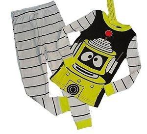 YO GABBA GABBA PLEX Boy's Size 4 Pajama Pants Set,