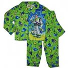 TOY STORY Buzz Lightyear Boy's 3T Flannel Coat Pajama Set, PJ'S