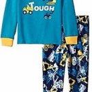 Toddler Boy's Size 3T OR 4T Construction Vehicles Built Tough Jersey Pajama Set