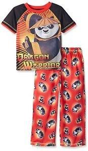 Komar Kids Boys' Size 8 Kung Fu Panda 2 Piece Pant Set